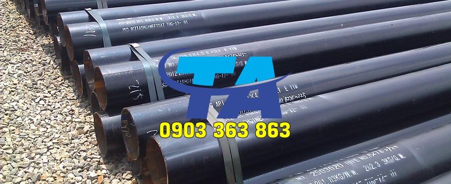 Thép Ống Đúc tiêu chuẩn ASTM A106 Phi 219